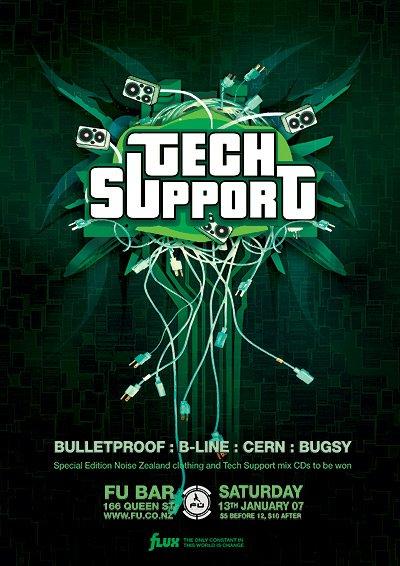 Tech Support, Fu, 13/01/2007